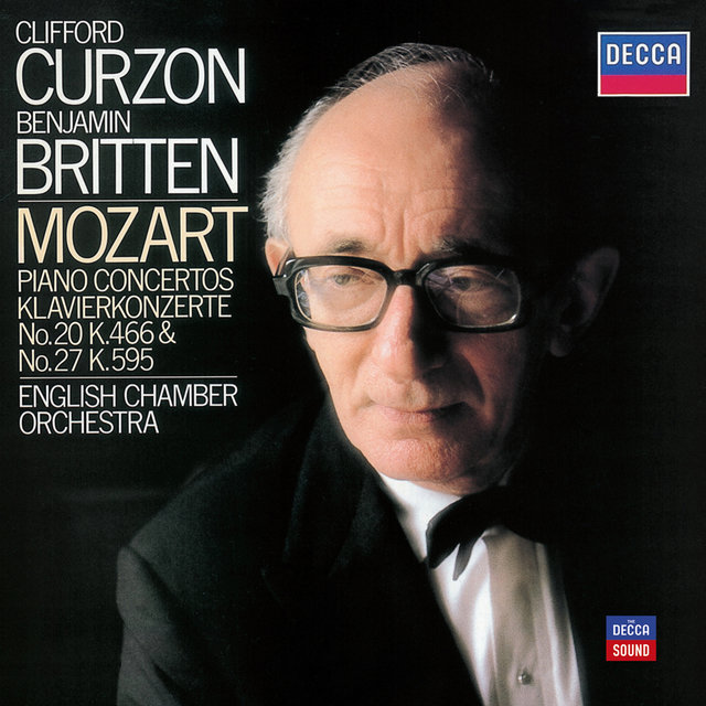 Mozart: Piano Concertos Nos. 20 in D minor & 27 in B flat