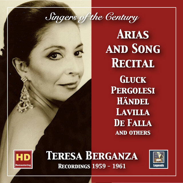 Singers of the Century: Teresa Berganza – Aria and Song Recital (2019 Remaster)