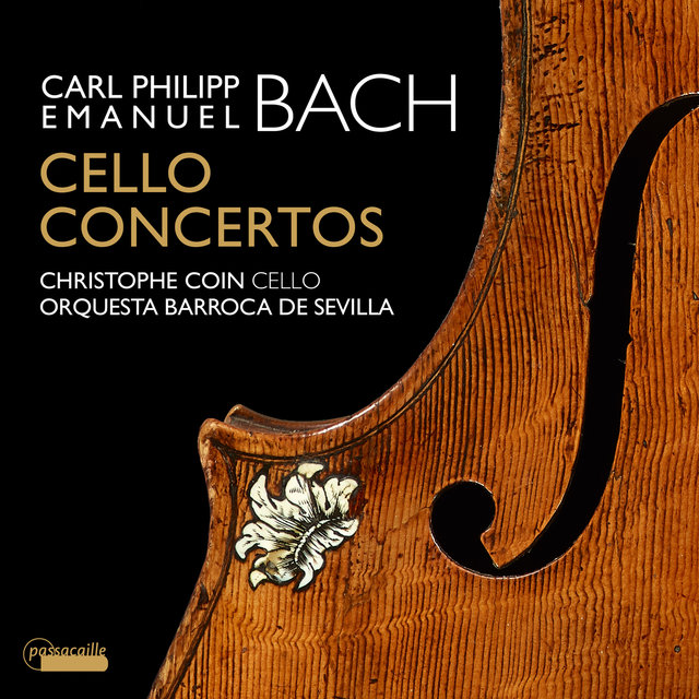 C.P.E. Bach: Cello Concertos - Christophe Coin