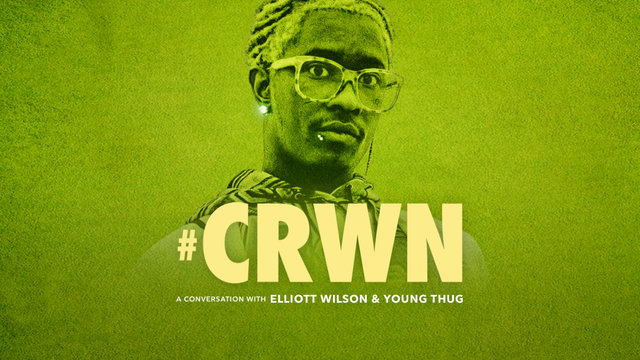 Cover art for album  by CRWN, Young Thug