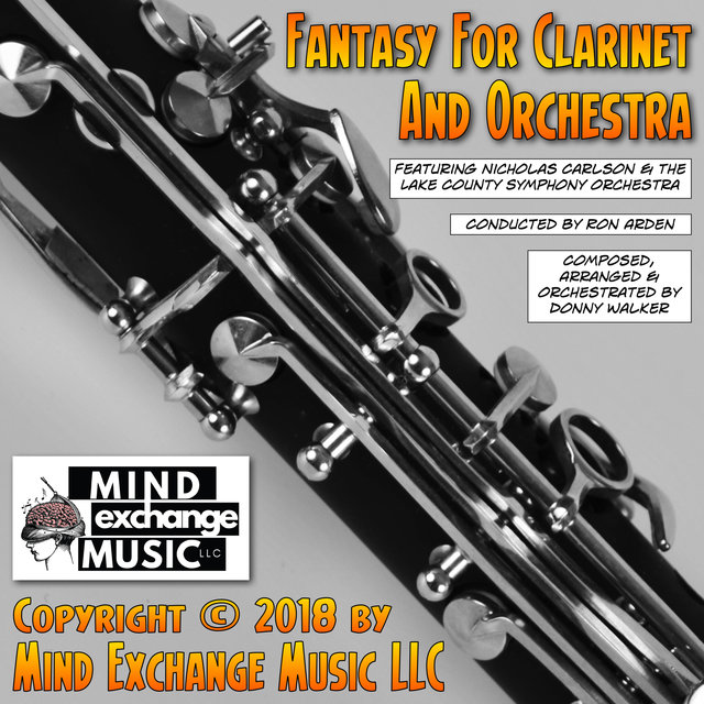 Fantasy For Clarinet & Orchestra (Original Score)
