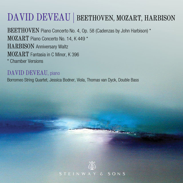 Mozart, Beethoven & Harbison: Works Featuring Piano