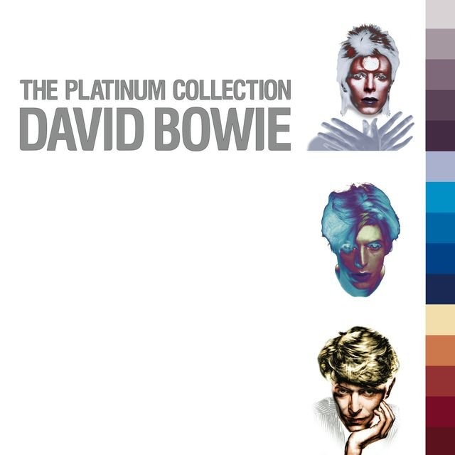 Cover art for album  by Queen, David Bowie