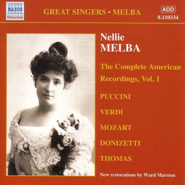 Melba, Nellie: American Recordings, Vol. 1 (1907)