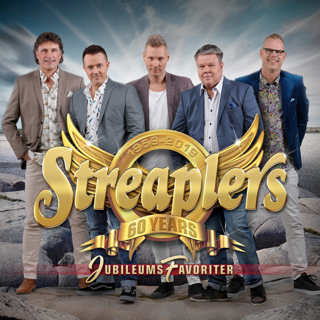 Cover art for album Jubileumsfavoriter by Streaplers