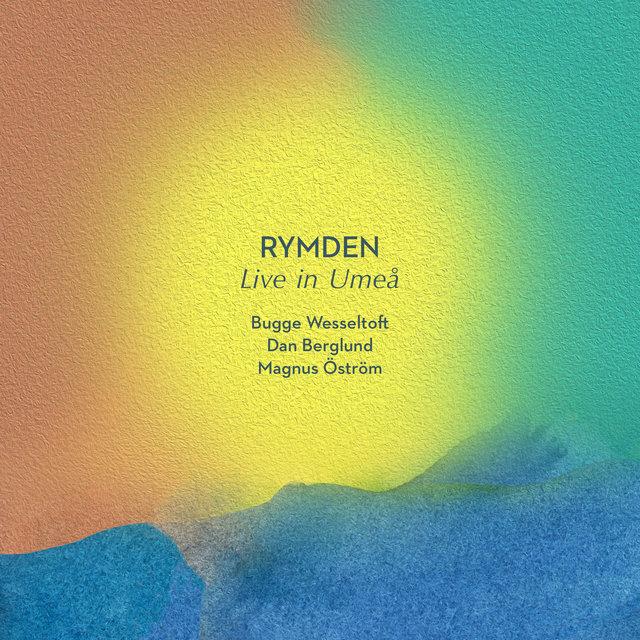 Cover art for album Live in Umeå (Live) by Rymden, Bugge Wesseltoft, Magnus Öström, Dan Berglund