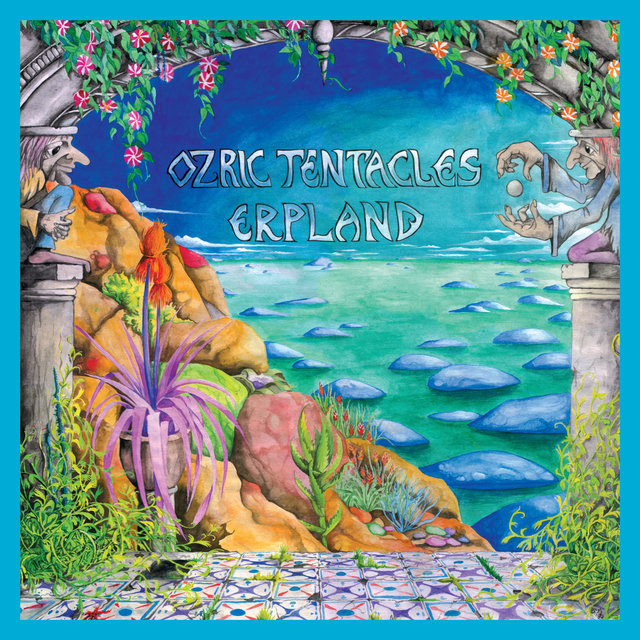 Cover art for album Erpland (2020 Ed Wynne Remaster) by Ozric Tentacles