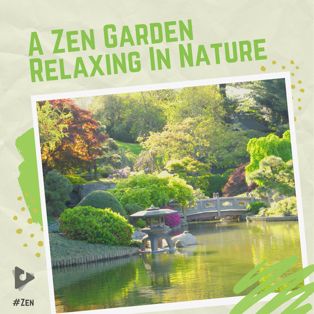 A Zen Garden Relaxing In Nature