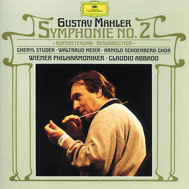 "Cover art for album Mahler: Symphony No. 2 ""Resurrection"" by Wiener Philharmoniker, Claudio Abbado"