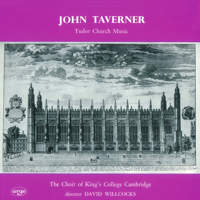 Taverner: Tudor Church Music; Croft: Burial Service