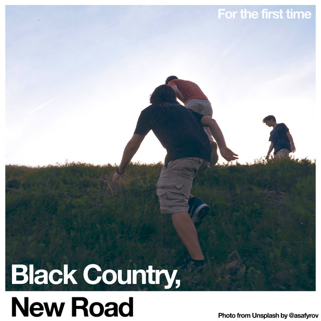 Cover art for album For the first time by Black Country, New Road