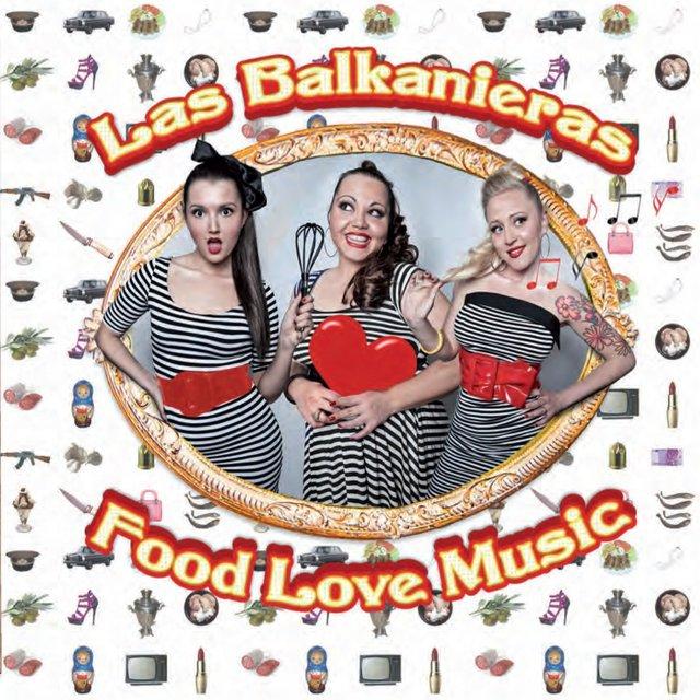 Cover art for album  by Las Balkanieras