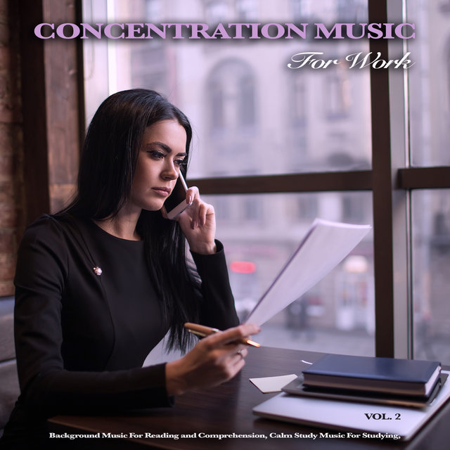 Concentration Music for Work: Studying Music for Deep Focus, Background Music For Reading and Comprehension, Calm Study Music For Studying, Vol. 2