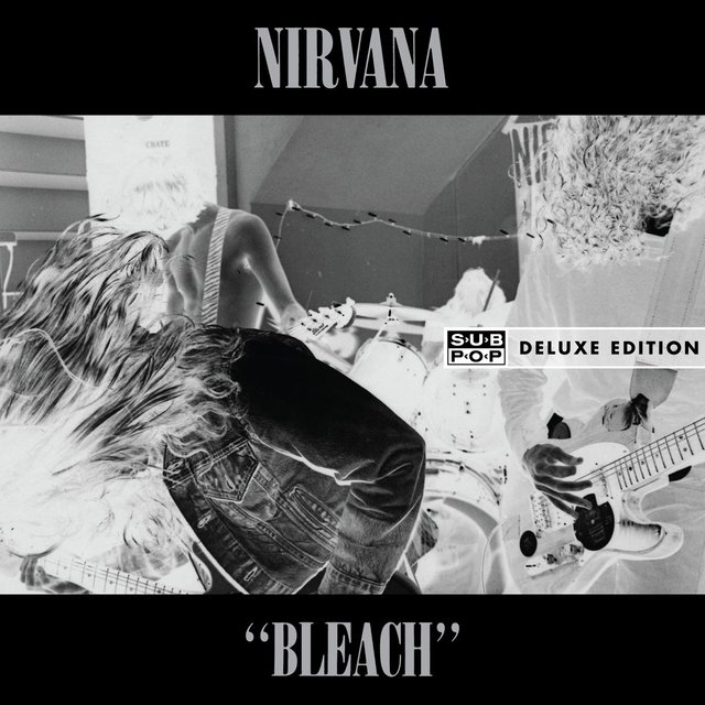 Cover art for album Bleach (Deluxe Edition) by Nirvana