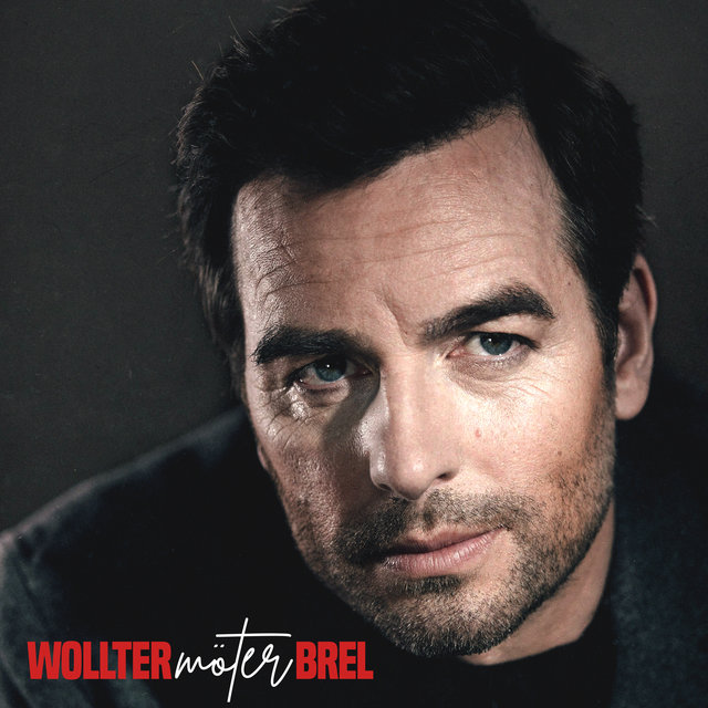 Cover art for album Wollter möter Brel by Christopher Wollter