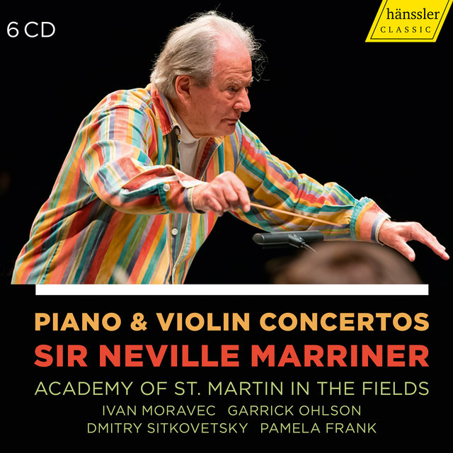 Piano & Violin Concertos - Sir Neville Marriner - Academy of St. Martin in the Fields
