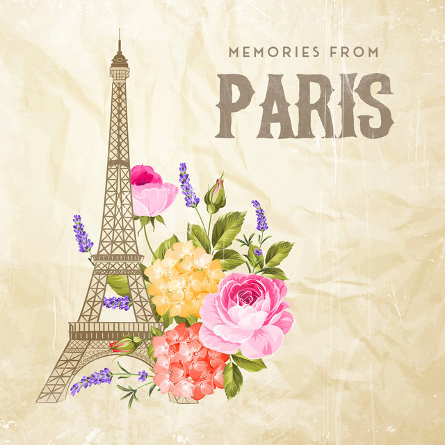 Memories from Paris - Brilliant Instrumental Jazz Melodies with French Vibes, Relaxation, Mood, Spending Time Together