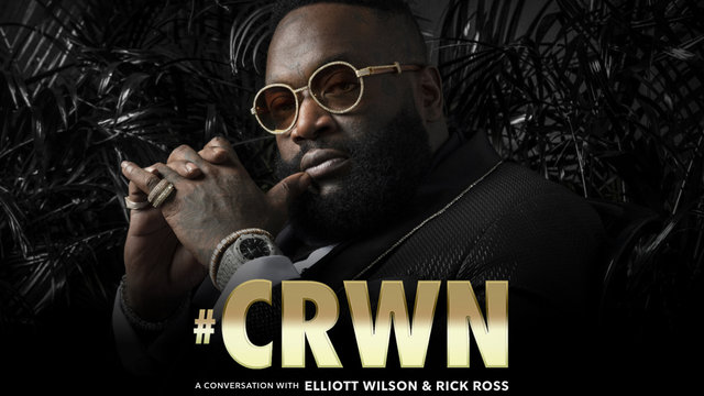 Cover art for album  by CRWN, Rick Ross