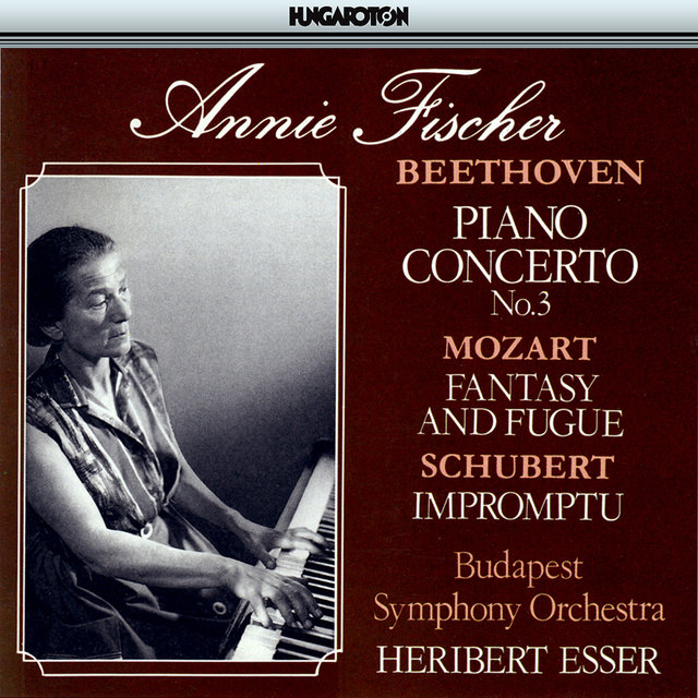 Beethoven: Piano Concerto No. 3 / Mozart: Prelude and Fugue, K 394 / Schubert: Impomptu No. 5