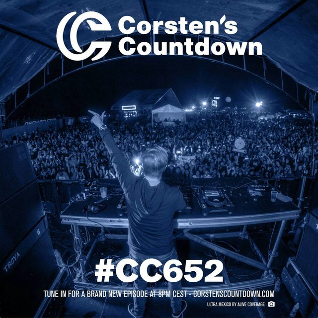 Corsten's Countdown 652 - Yearmix 2019