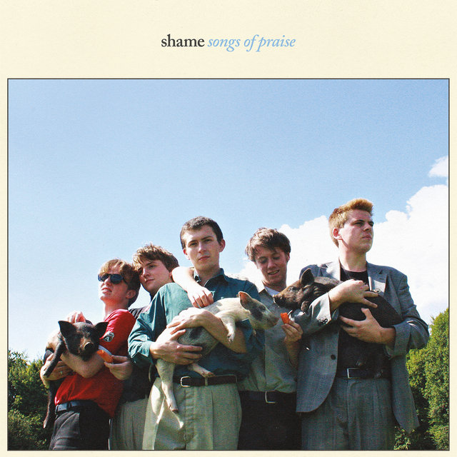 Cover art for album Songs of Praise by Shame