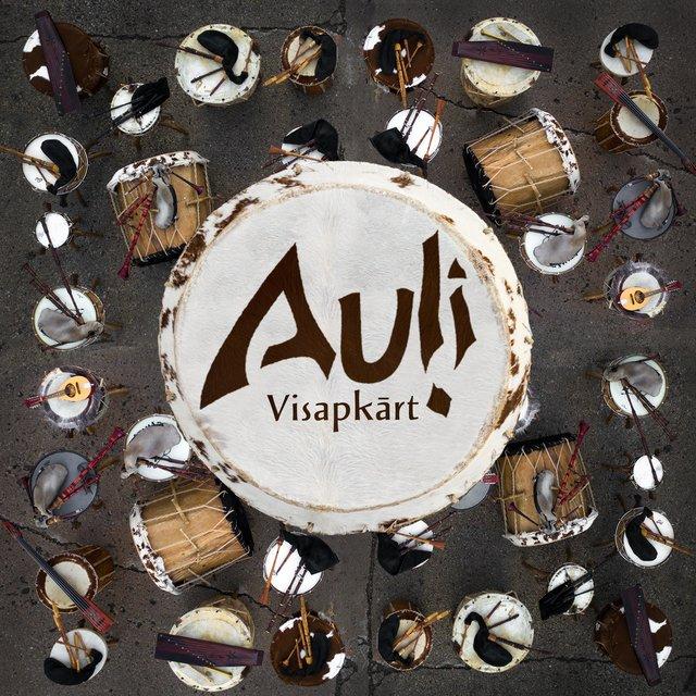 Cover art for album Visapkārt by Auļi