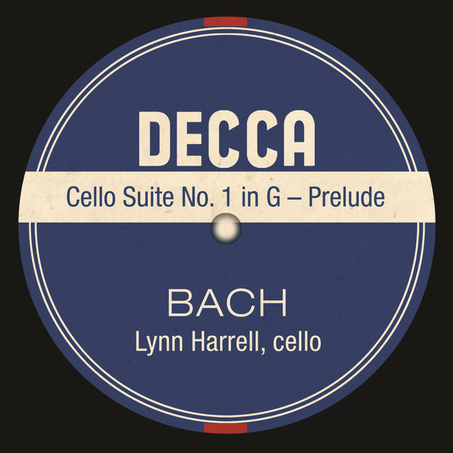 Cello Suite No. 1 in G – Prelude