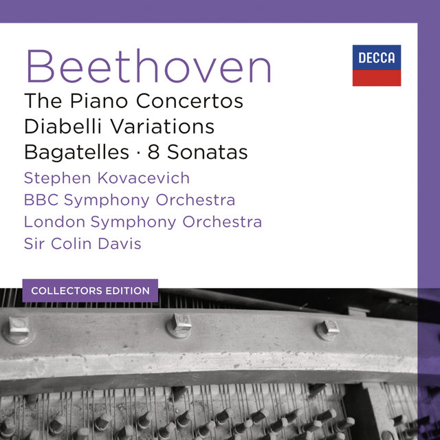 Beethoven: The Piano Concertos; Diabelli Variations; Bagatelles; 8 Sonatas (6)
