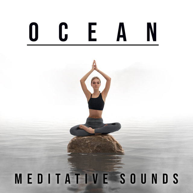 Ocean Meditative Sounds - Mindfulness Meditation on the Beach, Harmony, Serenity & Relax, Ocean Waves