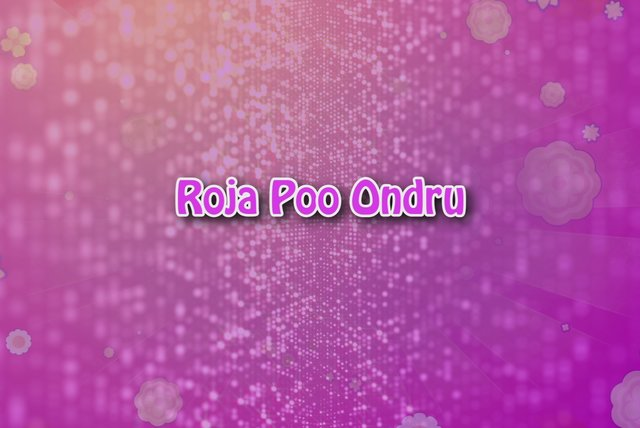 Roja Poo (Lyric Video)