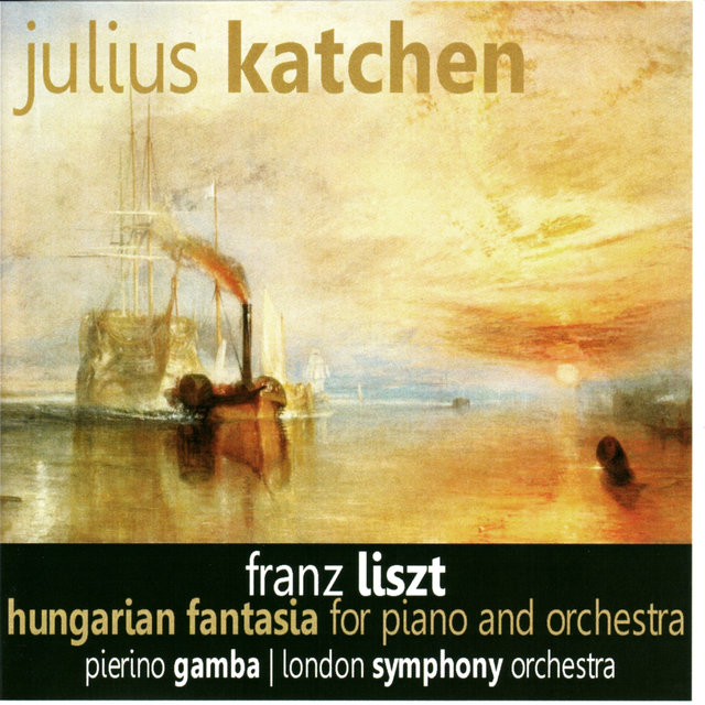 Liszt: Hungarian Fantasia for Piano and Orchestra