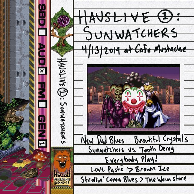HausLive 1: Sunwatchers at Cafe Mustache, 4/13/2019