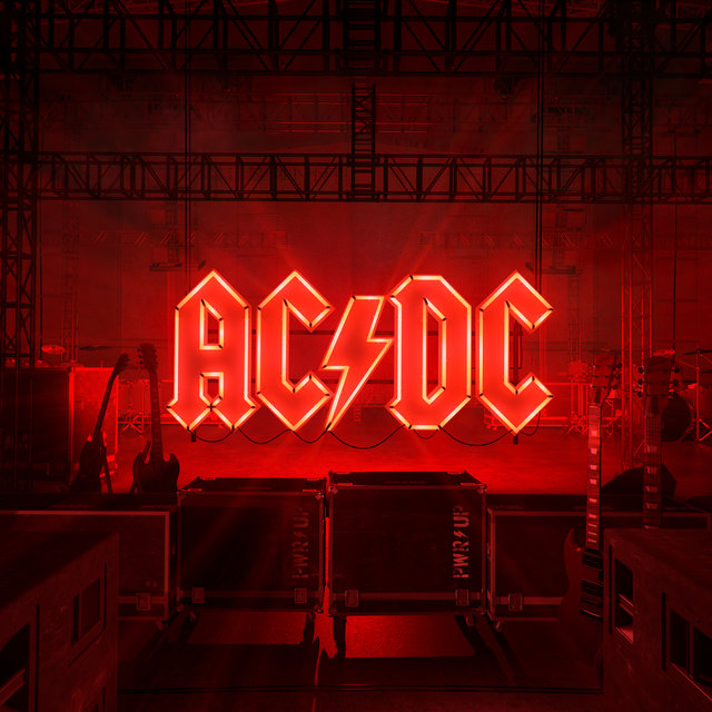 Cover art for album POWER UP by AC/DC