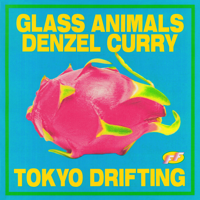 Cover art for album  by Glass Animals, Denzel Curry