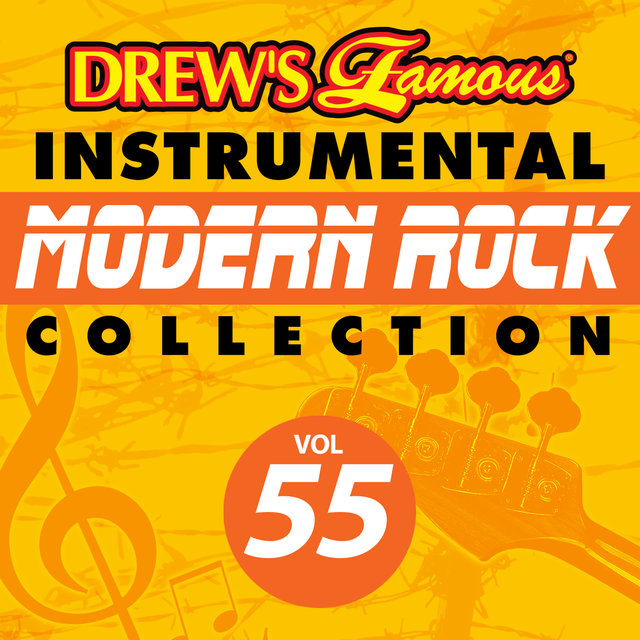 Drew's Famous Instrumental Modern Rock Collection (Vol. 55)