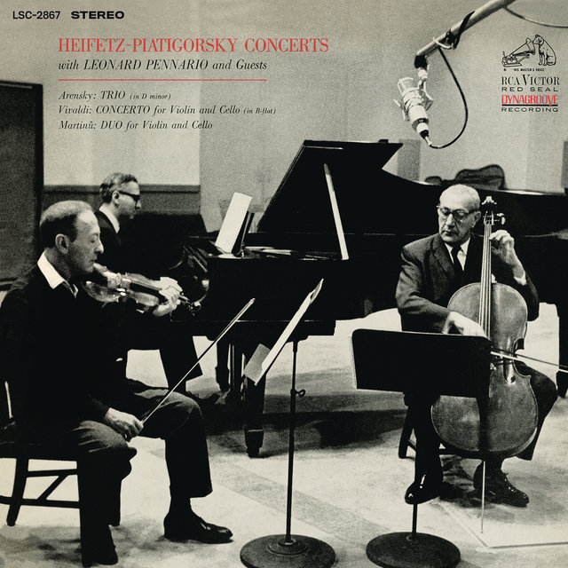 Arensky: Piano Trio No. 1 in D Minor & Vivaldi: Concerto in B-Flat Major & Martinu: Duo for Violin and Cello No. 1 (Remastered)