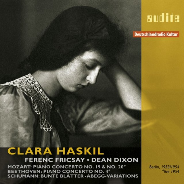 Clara Haskil Plays Mozart, Beethoven and Schumann
