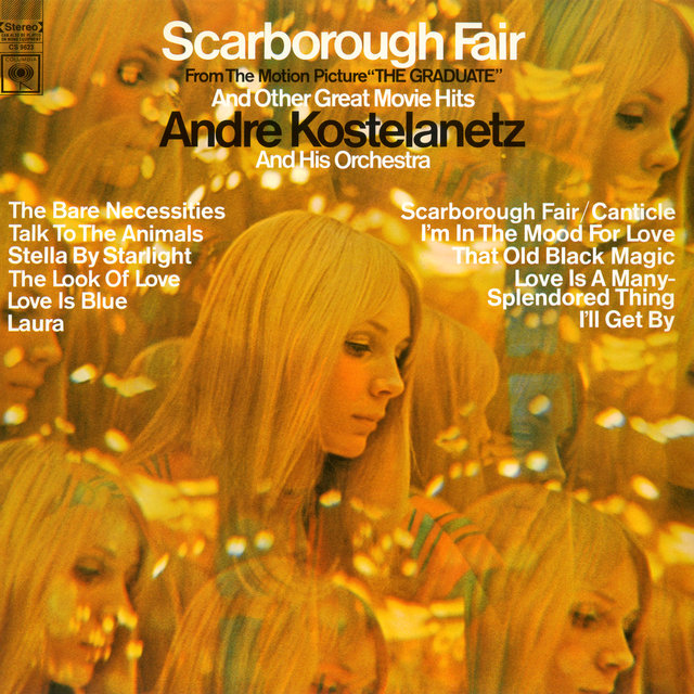 Scarborough Fair And Other Great Movie Hits By Andre Kostelanetz