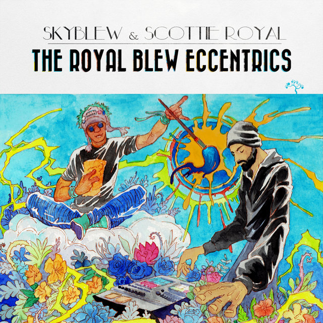 Cover art for album The Royal Blew Eccentrics by SkyBlew, Scottie Royal
