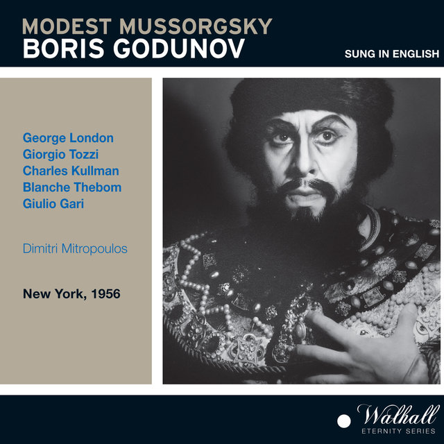 Mussorgsky: Boris Godunov (Sung in English) [Live Recording 1956]