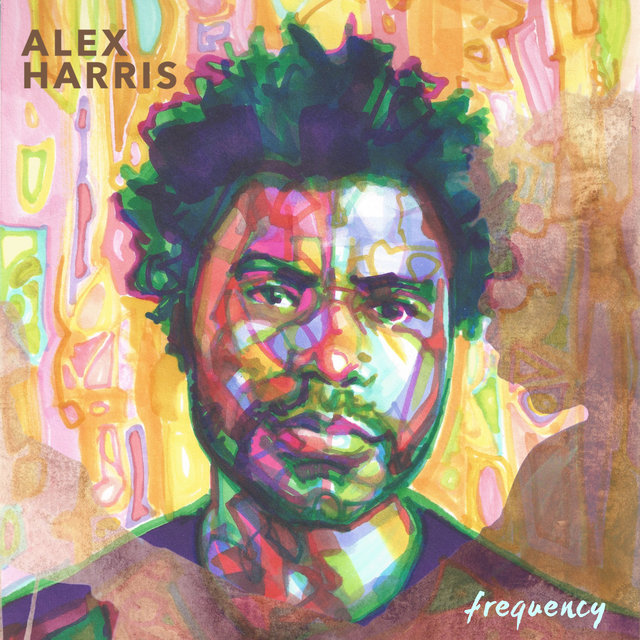 Cover art for album Frequency by Alex Harris