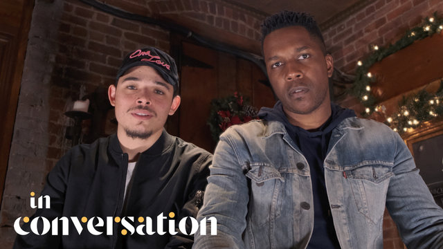 Cover art for album  by In Conversation, Anthony Ramos, Leslie Odom Jr.