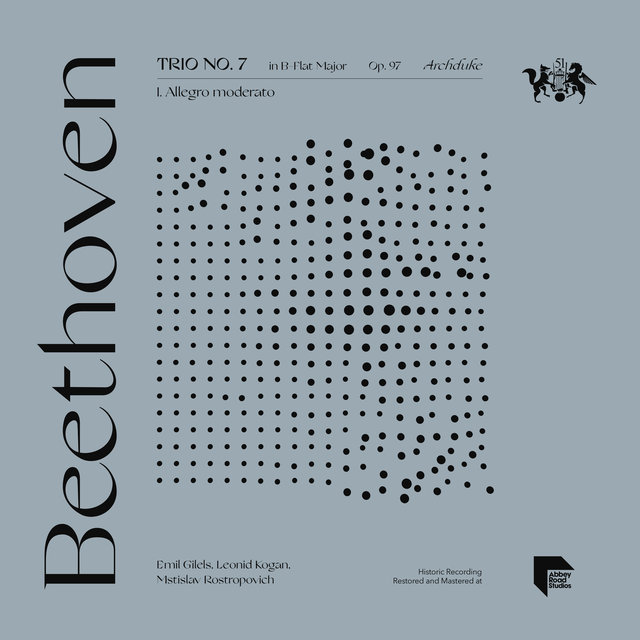 "Beethoven: Trio No. 7 in B-Flat Major, Op. 97 ""Archduke"": I. Allegro moderato"