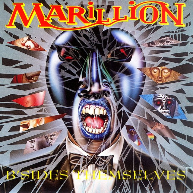 Cover art for album B'Sides Themselves by Marillion