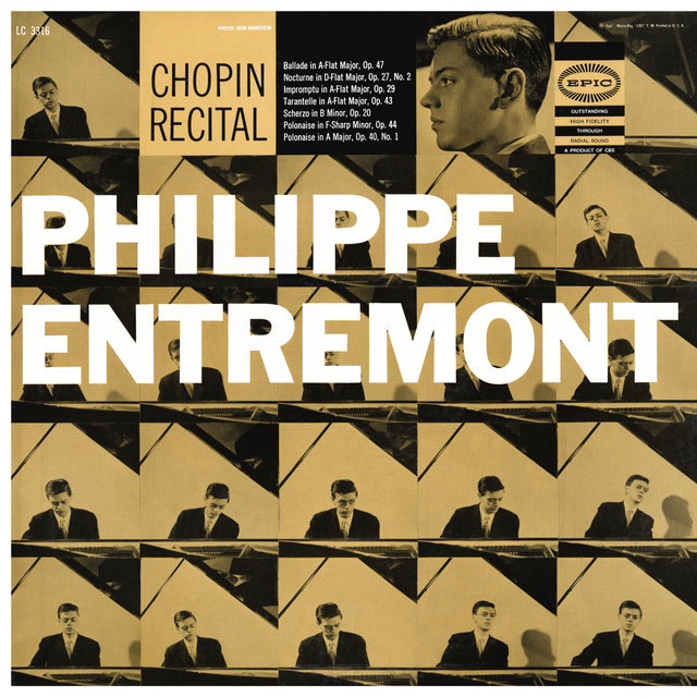 Entremont Plays Chopin (Remastered)
