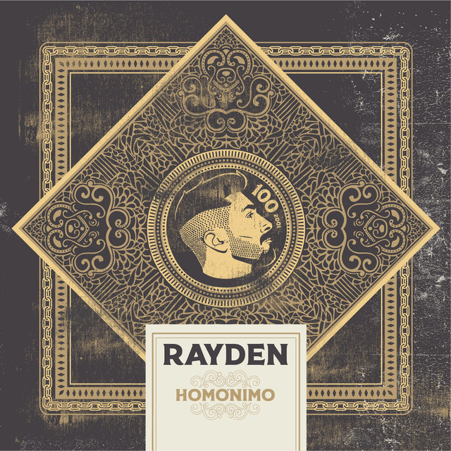 Cover art for album Homónimo by Rayden