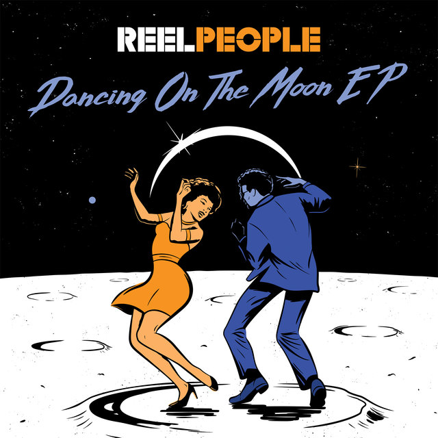 Cover art for album Dancing On The Moon EP by Reel People