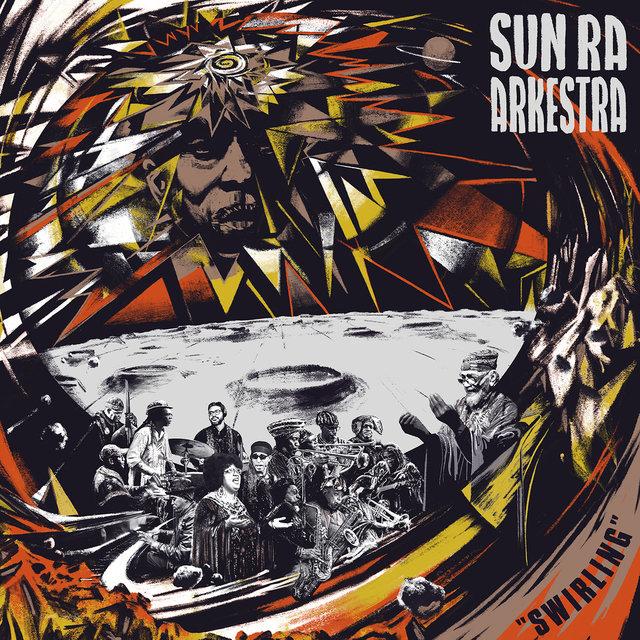Cover art for album Swirling by Sun Ra Arkestra
