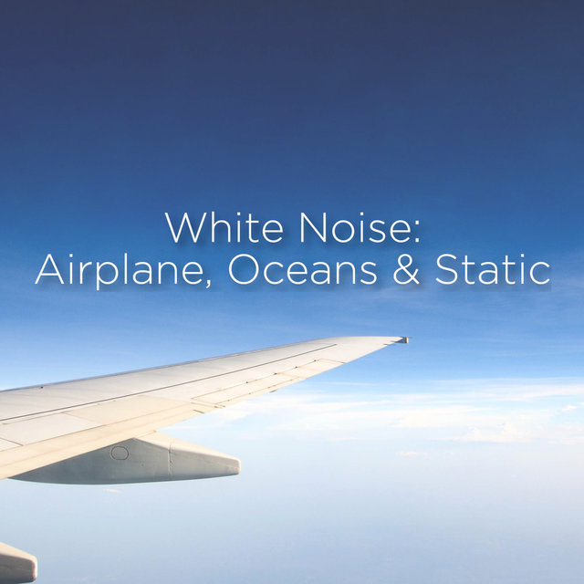White Noise: Airplane, Ocean & Static