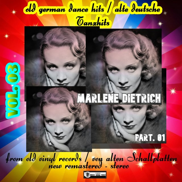 Old German Dance Hits - Alte deutsche Tanzhits Marlene Dietrich Part. 01